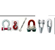 Shackle, Hook, Turnbuckle, Wire Clip / Wire Clamp, Open Spelter Socket, Closed Spelter Socket, Masterlink, Turnbuckle dll ( CROSBY, GUNNEBO, JOHNSON)