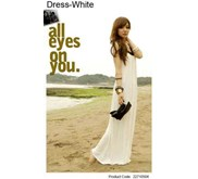 Longdress white shining