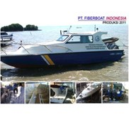SPEED BOAT PATROLI SERI FBI-0822-XA