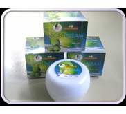 CREAM MALAM / NIGHT CREAM Kosmetik Alami Berbahan Dasar VCO ( Virgin Coconut Oil )