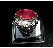 NATURAL RUBY CUTTING R-367