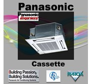 Cassette Panasonic Non Inverter 4 Pk Type CS-F28DB4E5