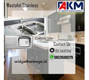 Wastafel Stainless