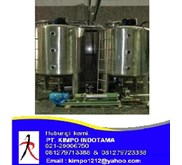 Jual Channel Jacketed S/S Tank