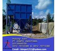 Jual Clarifier For Water Treatment Plant
