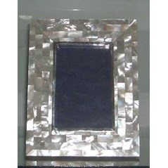 frame photo mop white with silver925