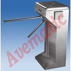 Turnsteil Tripod Gate Manual Model Vertical Round Angle - Manual Operation