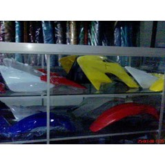 Cover Body Mini Trail Komplit, Jok, Tank, Slebor, kran bensin
