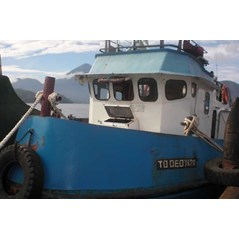 1 Unit Tug Boat Deby  th 1993