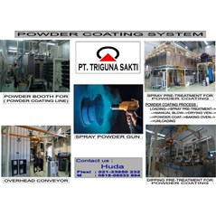 Powder Coating Machine system