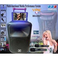 Portable wireless Multi-functional Mobile Performance system BNS-3512 DX