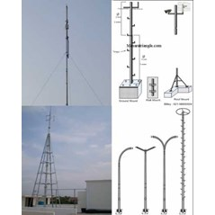 PRODUKSI TOWER TRIANGLE, TOWER MONOPOLE