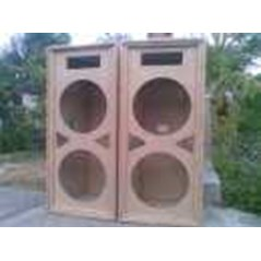 box speaker vocal dual 15