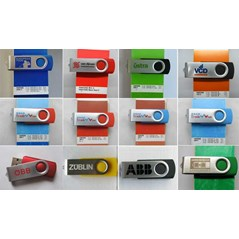 Flashdisk Metal Putar ( swivel )
