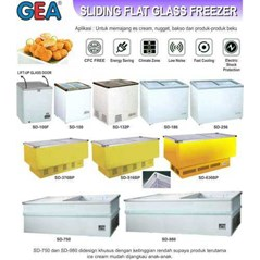Glass Freezer