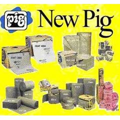 new pig, spill containment system, absorbent pillow, spillblocker, skimmer pillow