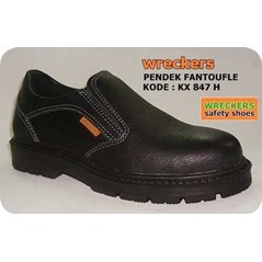 Sepatu Safety Kulit SNI - WRECKERS SAFETY SHOES KX 847 H