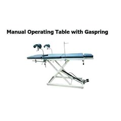 manual operating table with gaspring