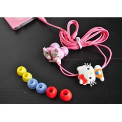 EARPHONE HELLO KITTY ( kode: TE-01)