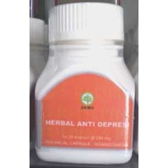 Kapsul Herbal Anti Depresi