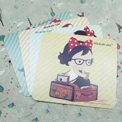 Mouse Pad Michelle Girl ( 244)