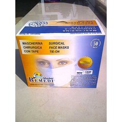 MASKER TALI - SURGICAL FACE MASKS TIE-ON