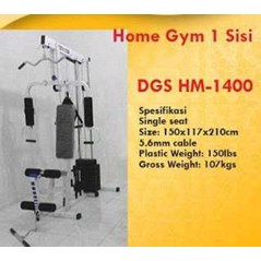 ALAT FITNES HOME GYM 1 SISI 1400DX