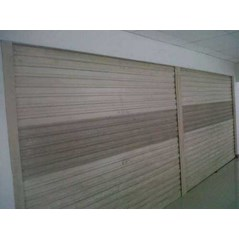 Rolling door one sheet, rolling door perforeted