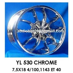 velg 18 Chrome Ki