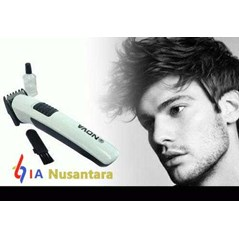 Alat Cukur PORTABLE Nova NS-818 Rechargeable Hair and Beard Trimmer