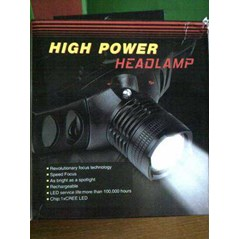 High Power Led Speed Focus Head Lamp TRANS MEDIA SUKSES MAKMUR Adventure