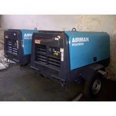 sewa - rental - Jual - air compressor Diesel portable airman PDS 125 - 185 CFM