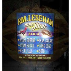 Billboard Signage Neonbox Lettersign/ Huruf Timbul Acrylic Sign Pylon Sign Booth Event Tangerang