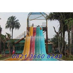 Waterboom Race Slide 4 Jalur