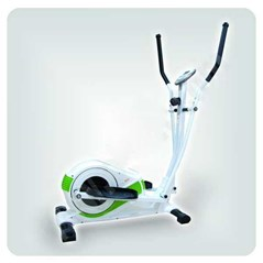 sepeda statis ELLIPTICAL BIKE WHITE GREEN SN 6022