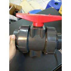 BUTTERFLY VALVE PVC MATERIAL