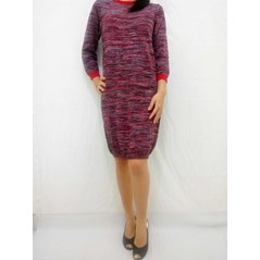 Dress rajut /Knit Dress Twotone Twist