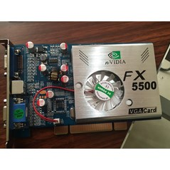 VGA Card fx5500 pci 256MB dual port
