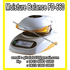 Alat Ukur Kadar Air, FD-660 Infrared Moisture Determination Balance