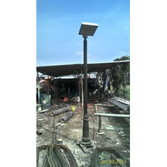 Lampu PJU Tenaga Surya All in One