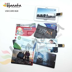 USB Card with Full Color Custom Print Image