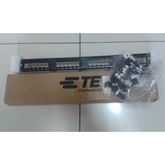 Patch Panel AMP 24Port cat 6 (1933796-2)