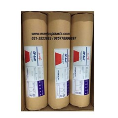 Plastik Laminating Roll Label Merah