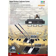 Wireless Conference System PMM9977