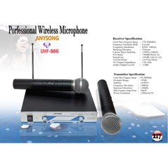 Wireless Microphone( UHF 886)
