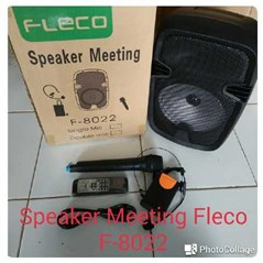 Speaker Meeting Fleco Murah