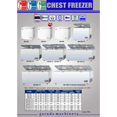 Mesin Pendingin (Chest Freezer)