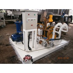 Fuel Suction & Dispensing Module On Skid Fuel Station