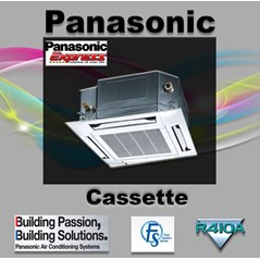 Cassette Panasonic Non Inverter 6 Pk Type CS-F50DB4E5
