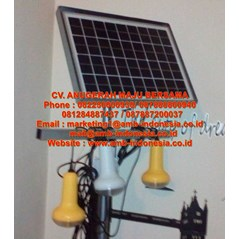 Lampu Led Solar Panel Qinsun SLD 70 Led Solar Cell Home System